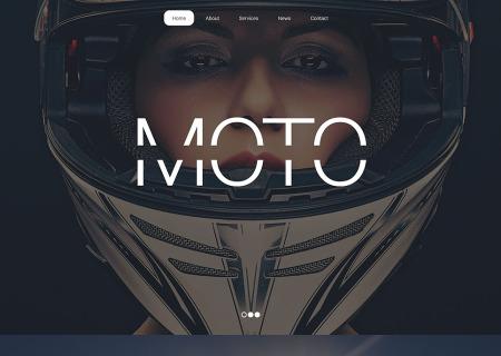 Motor Sports Responsive
