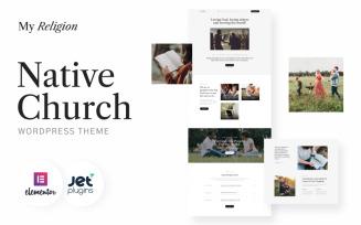 Native Church - My Religion WordPress Theme