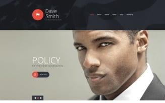 Politics Joomla Template