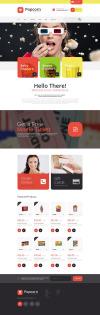 Popcorn Store WooCommerce Theme New Screenshots BIG