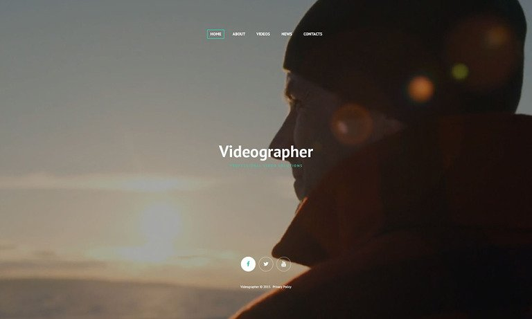 Professional Video Solutions Website Template New Screenshots BIG