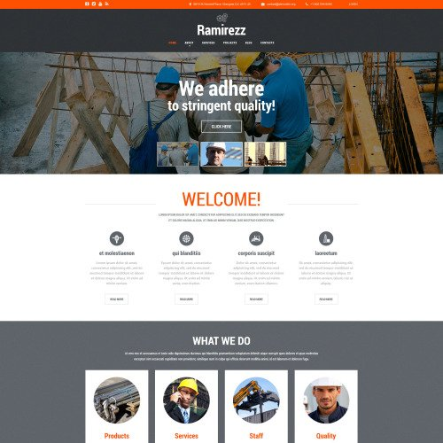 Ramirezz - Joomla! Template based on Bootstrap