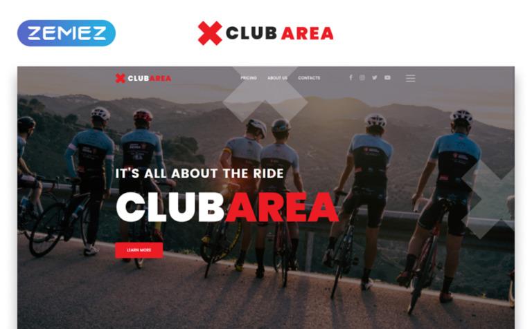 Ungewöhnlich Club Website Vorlage Galerie - Dokumentationsvorlage ...