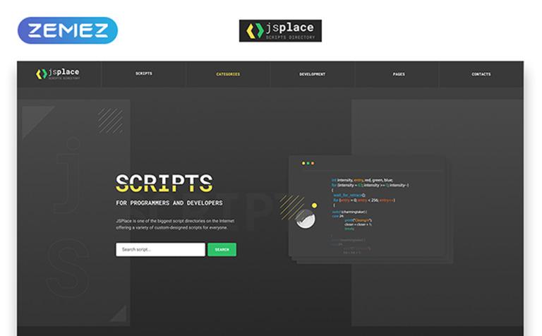 Software Responsive Website Template
