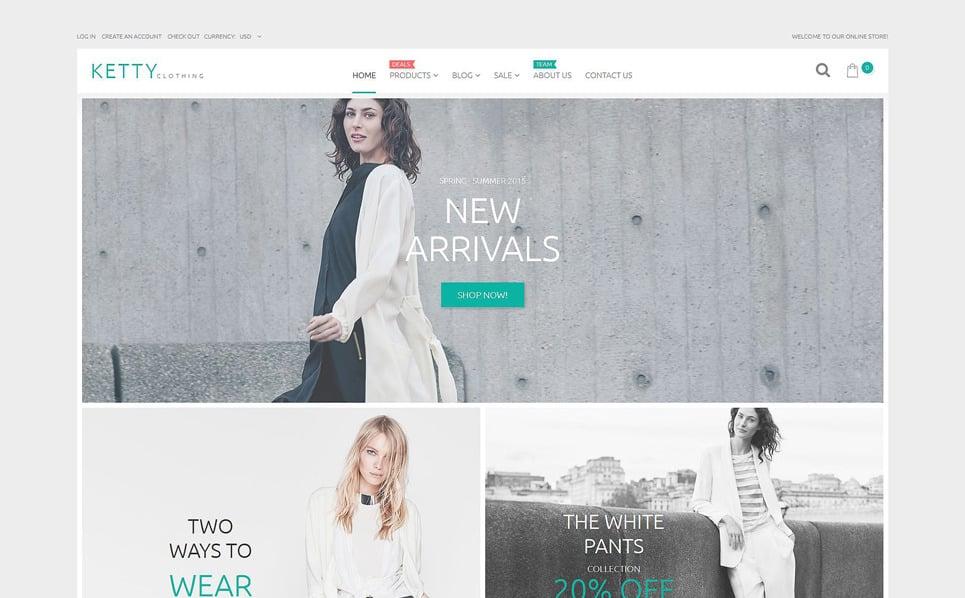 Tema Shopify Responsive para Sitio de Ropa New Screenshots BIG