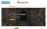 "Template Siti Web Responsive #54802 ""Hindu Faith - Hinduism Multipage Modern  HTML"""