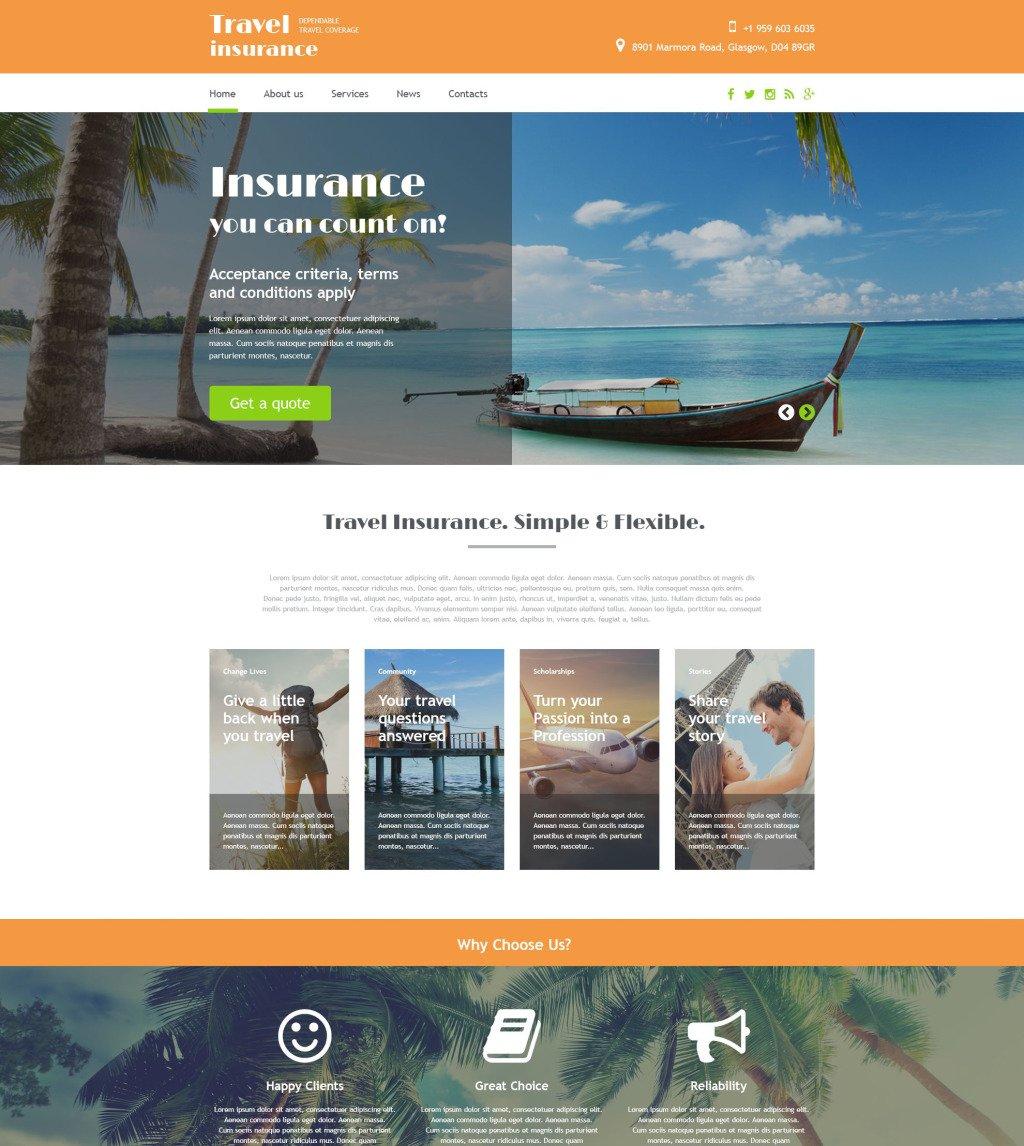Travel Agency Website >> Travel Agency Website Template