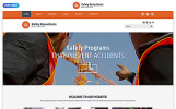 """Website Vorlage namens """"Safety Consultants - Security Responsive Clean HTML"""""""