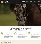 Animals & Pets Moto CMS 3  Template 54908