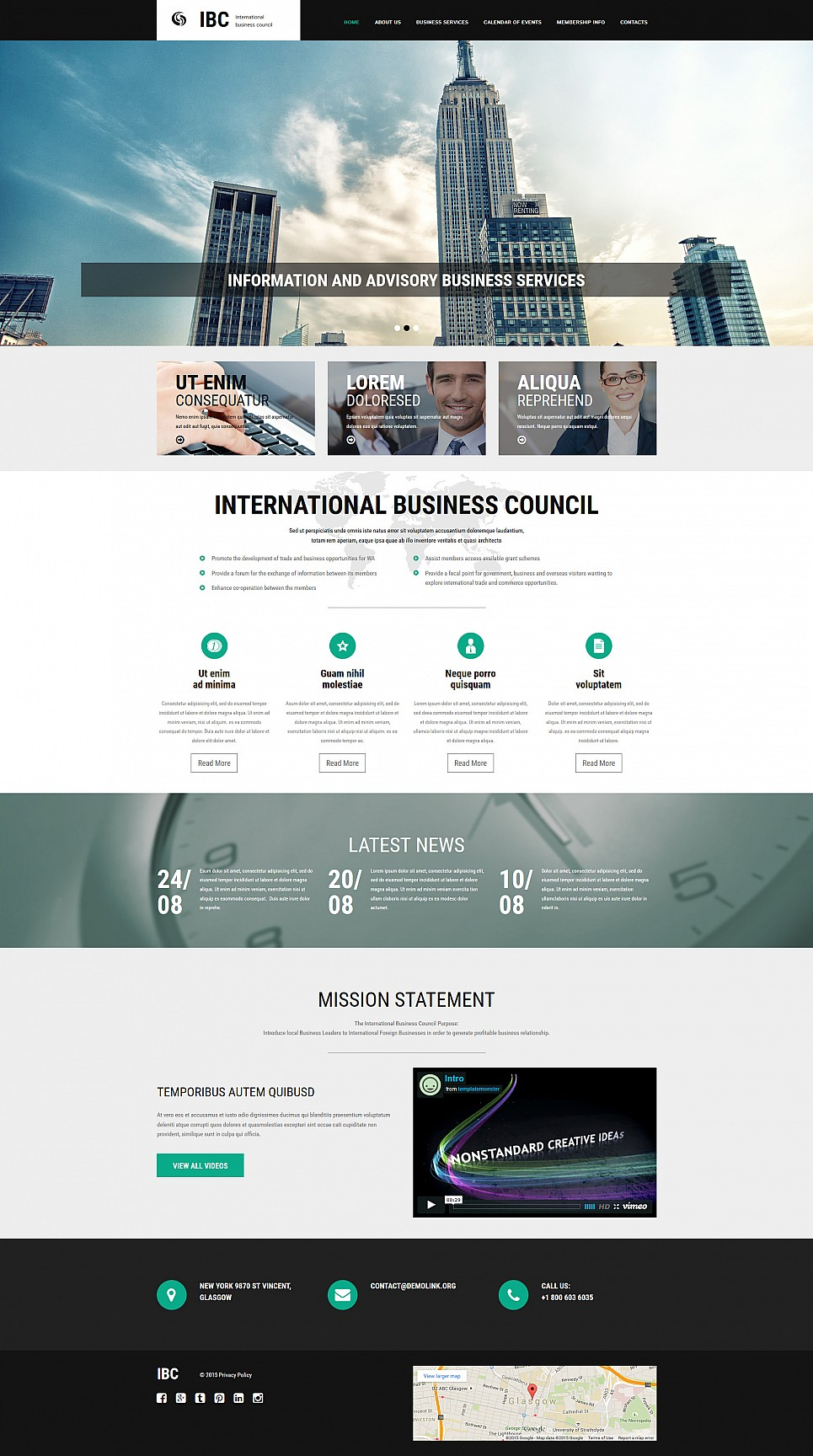 Responsive Website Design for Business Company - image