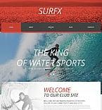 Sport Moto CMS HTML  Template 54917