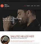 Music Moto CMS HTML  Template 54918