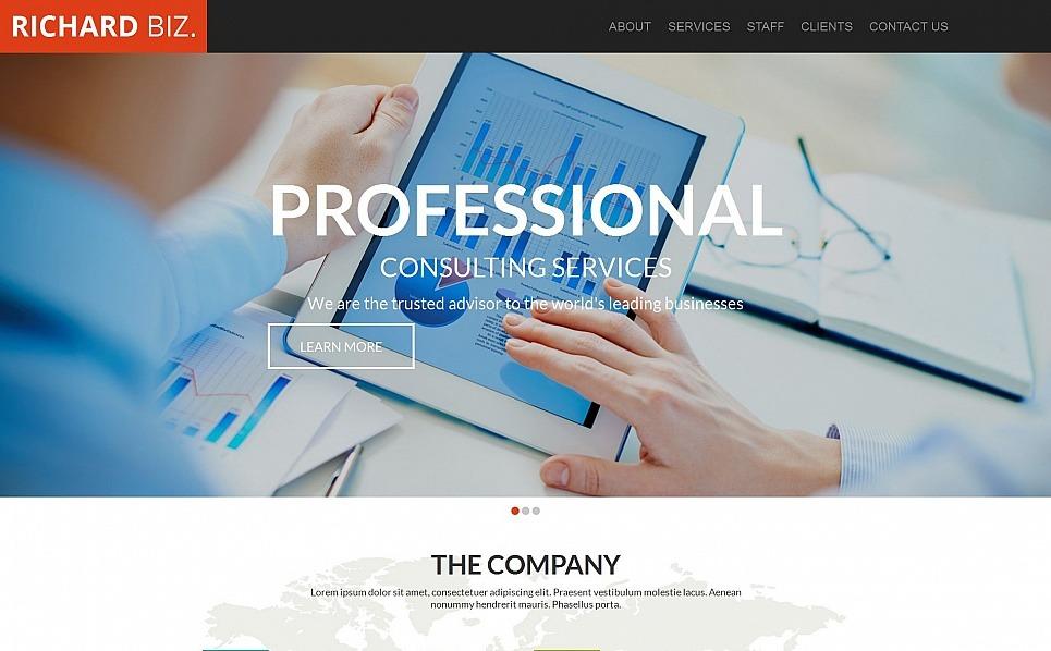 Moto CMS HTML Vorlage für Business und Dienstleistungen New Screenshots BIG