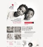 Charity WordPress Template 54940