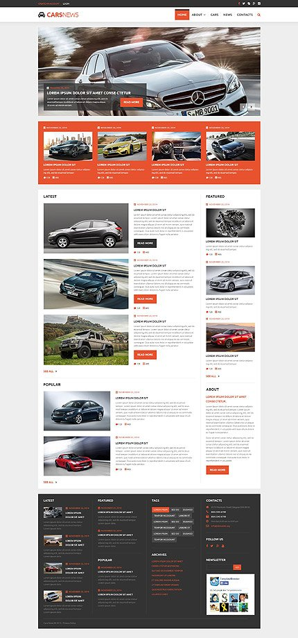 Joomla Theme/Template 54947 Main Page Screenshot
