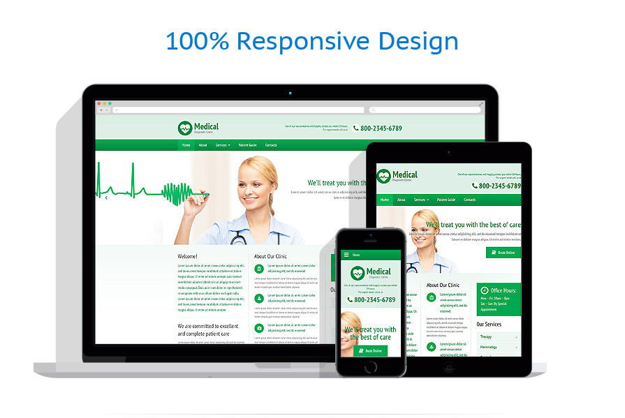 Modèles HTML5 Médical #54949