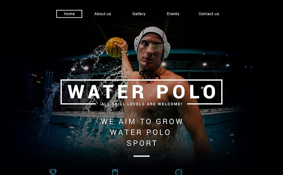 Template Web Flexível para Sites de Polo №54950 New Screenshots BIG