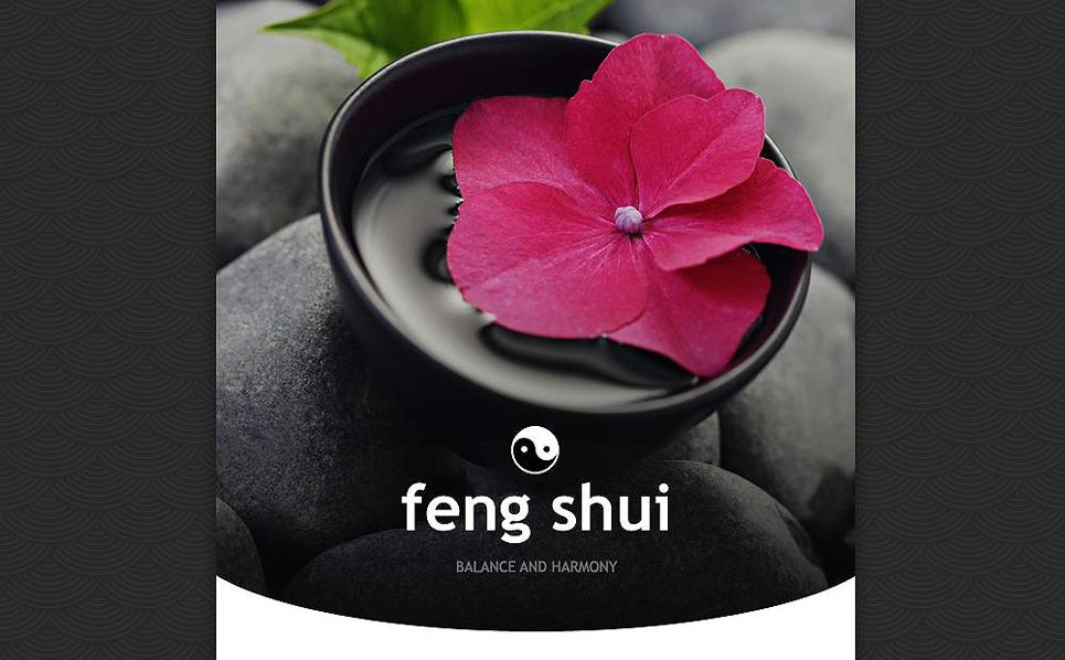 Responsive Feng Shui  Haber Bülteni Şablon New Screenshots BIG