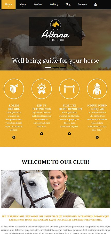 Joomla Theme/Template 54953 Main Page Screenshot