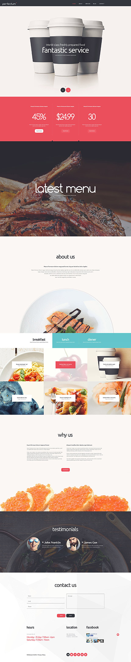 Joomla Theme/Template 54955 Main Page Screenshot