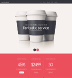 Cafe & Restaurant Joomla  Template 54955