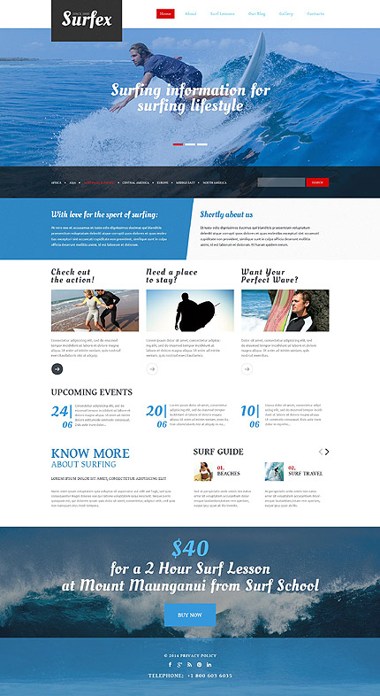 Drupal Template 54965 Main Page Screenshot
