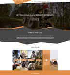 Sport Website  Template 54966