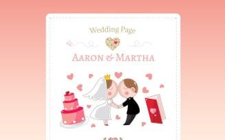 Wedding Planner Responsive Newsletter Template