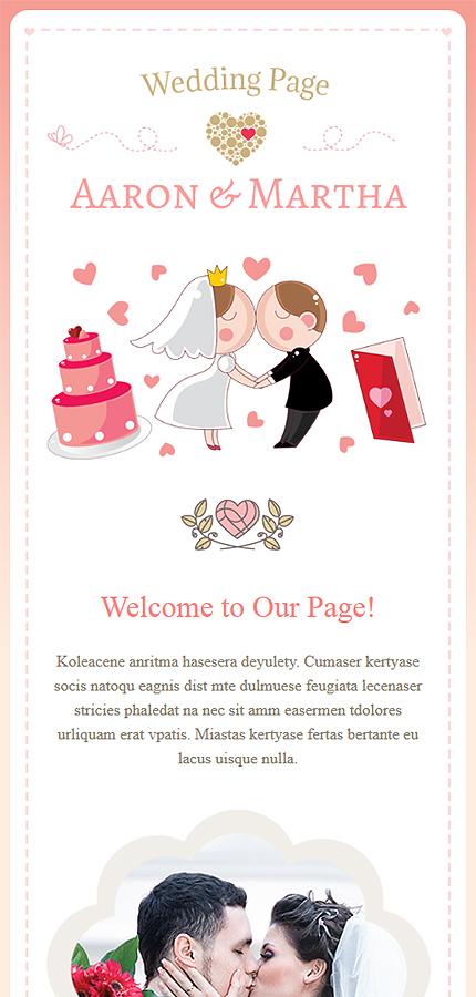 bridesmaid newsletter template - wedding newsletter template website templates