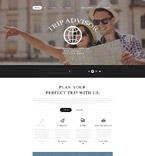 Travel Website  Template 54968