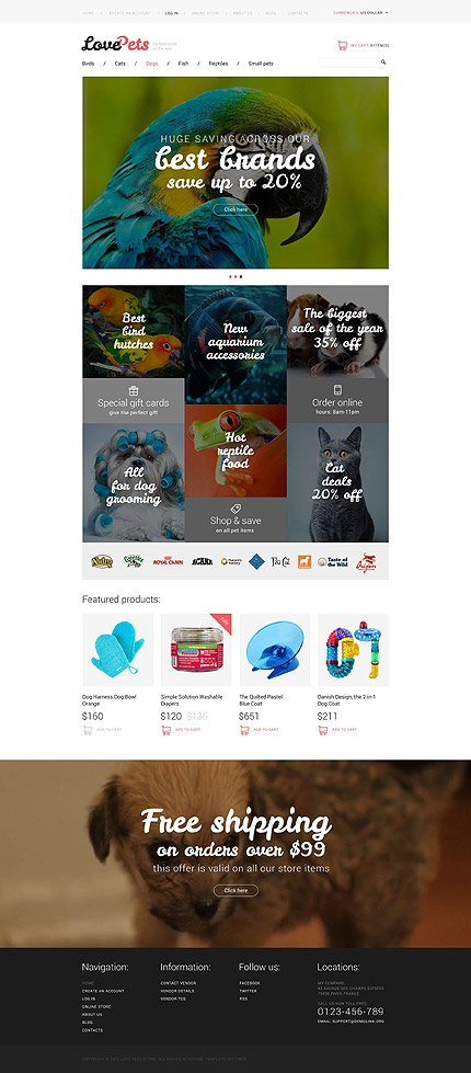 ADOBE Photoshop Template 54972 Home Page Screenshot
