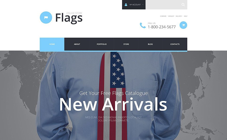 Tema WooCommerce Flexível para Sites de Politica №54979 New Screenshots BIG