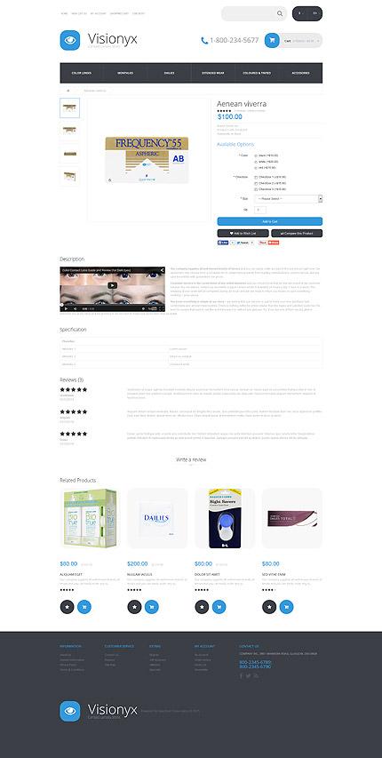 ADOBE Photoshop Template 54980 Home Page Screenshot