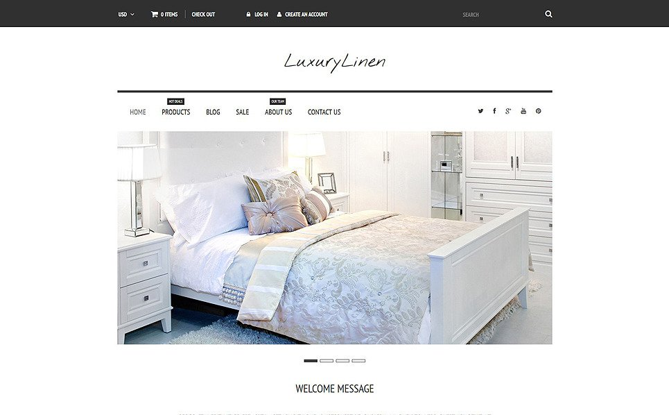 Responsive Shopify Thema over Linnengoed & Kant New Screenshots BIG