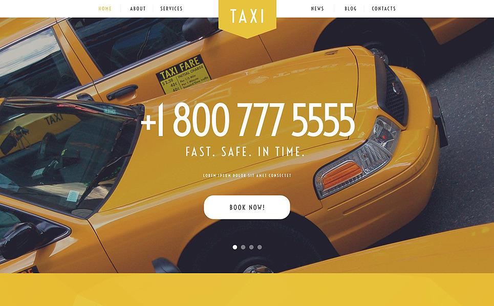 Responsive WordPress thema over Taxi  New Screenshots BIG