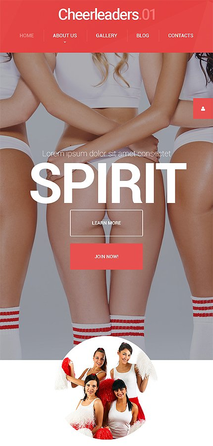 sport wordpress template at a price of 79