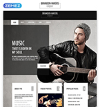 Personal Page Website  Template 54996