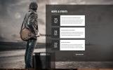 Brandon Mayers - Singer Responsive Stylish HTML Website Template