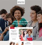 Education Website  Template 54997