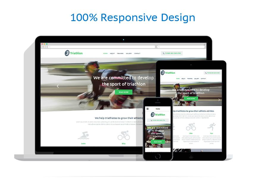 Modèles HTML5 Sport #54998