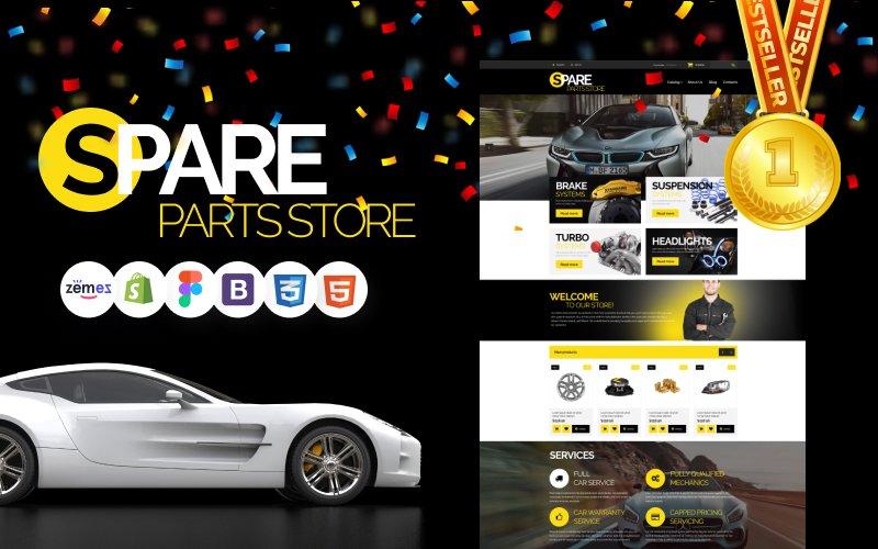 """""""Auto Parts"""" thème Shopify Bootstrap #54971"""