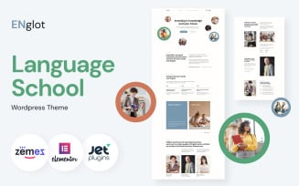 Englot - Clean Language Course WordPress Theme