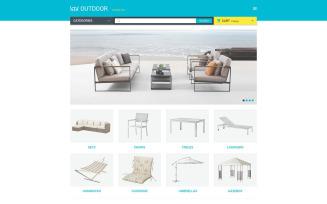Furniture Responsive OpenCart Template