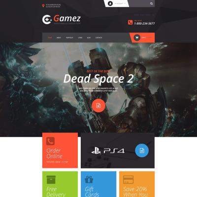 Thème WooCommerce adaptatif  pour site de jeux