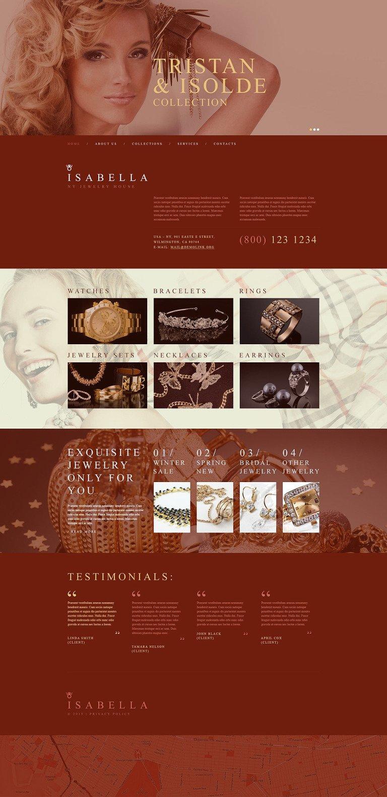 Jewelry Muse Template New Screenshots BIG