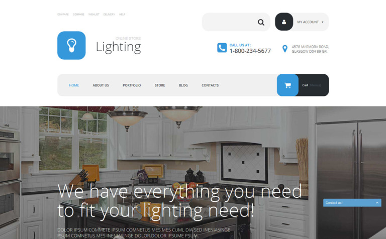 Electric Service Woocommerce Theme