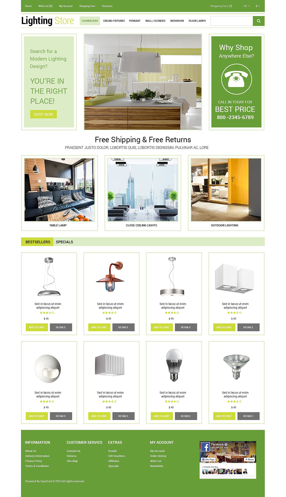 lightning store opencart template 54954 big Top Result 60 Inspirational Opencart Bookstore Template Gallery 2017 Phe2