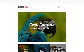 Love Pets VirtueMart Template
