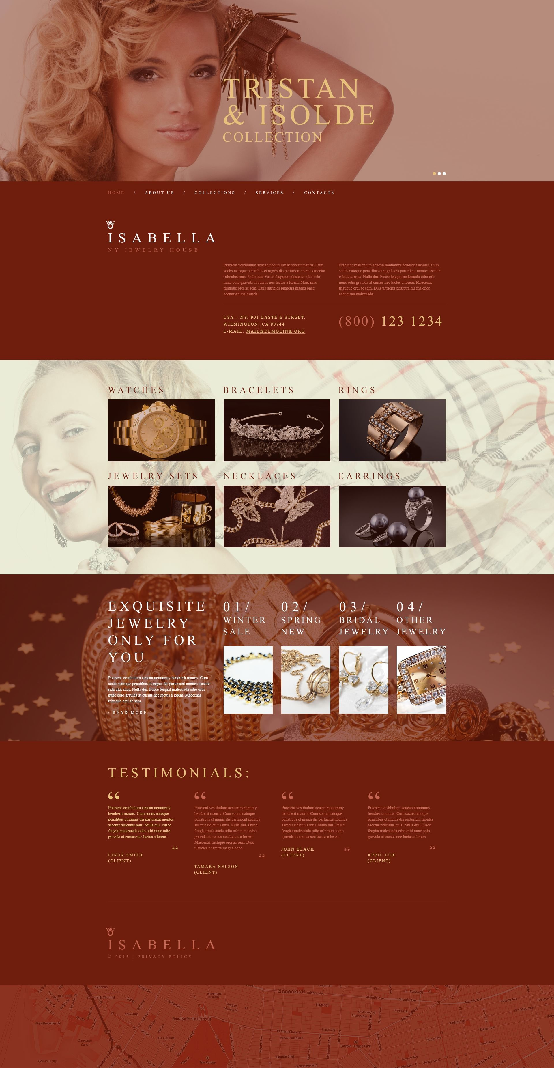 Muse Template over Sieraden №54999