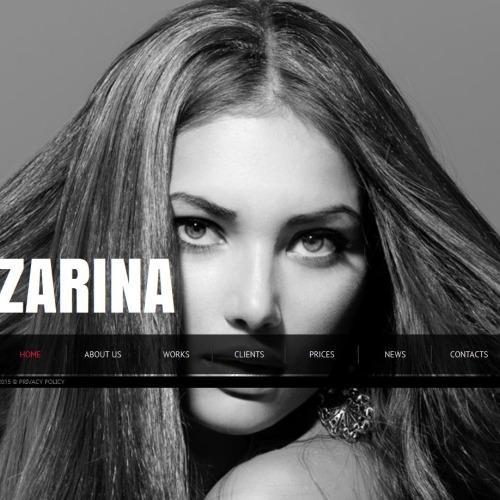 Zarina - Photo Gallery Template